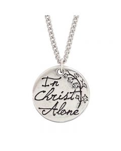 Christian Necklace - In Christ Alone