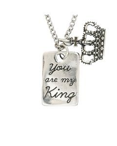 Christian Necklace - You are my King