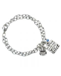 Fashion Christian Bracelet - Be Wise w/Owl