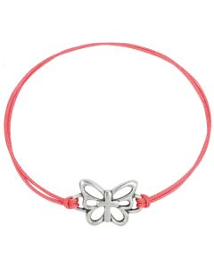 Fashion Christian Bracelet - Butterfly w/Cross