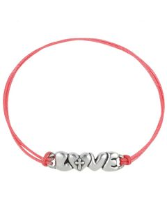 Fashion Christian Bracelet - Cross within Love