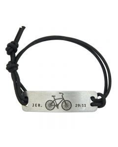 Fashion Christian Bracelet - Bike/Jeremiah 29:11