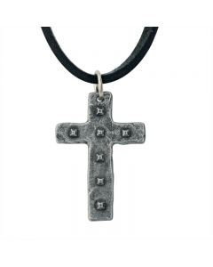 Cross Necklace - Riveted Cross