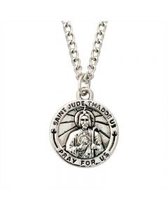 Christian Necklace - Saint Jude Medal
