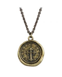 Fashion Christian Necklace - Amazing Grace