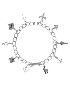 Christian Bracelet - Symbols Of Faith