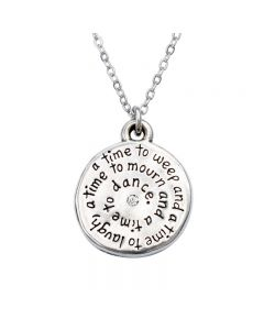 Christian Necklace - Laugh/Ecclesiastes 3:4