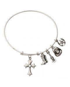 Christian Bracelet - Country Faith/Bangle