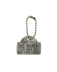 Pewter Keychain - The Moment