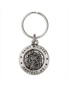 Christian Keychain - Saint Michael