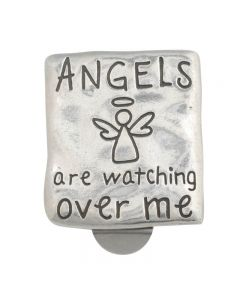 Christian Visor Clip - Angel