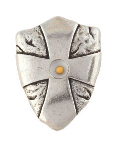 Cross Pocket Token - Mustard Seed Shield/Matthew 17:20
