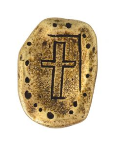 Cross Pocket Token - Engraved/Always in my Heart