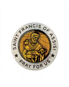 Christian Pocket Token - St. Francis of Assisi