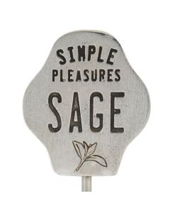Garden Stake - Sage/Simple Pleasures