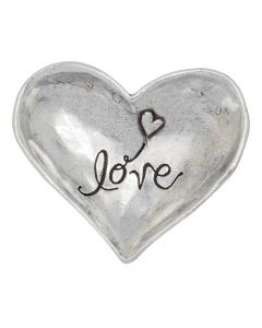 Christian Trinket Dish - Love Heart