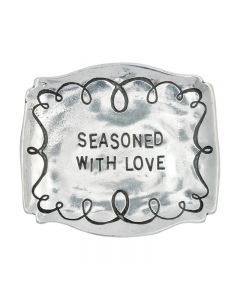 Christian Trinket dish - Seasoned with Love