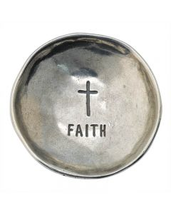 Christian Trinket Dish -Cross