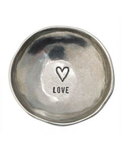 Christian Trinket Dish - Heart/Love