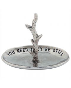 Christian Trinket Dish - Exodus 14:14 Ring Holder