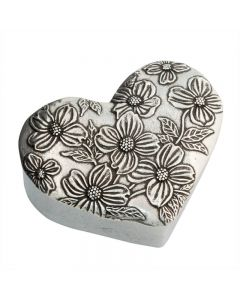 Christian Trinket Box - Dogwood Heart
