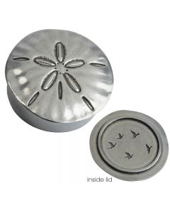 Pewter Trinket Box - Sand Dollar