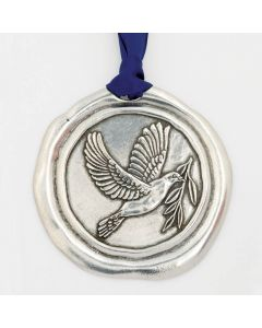 Christmas Ornament - Dove/Peace on Earth