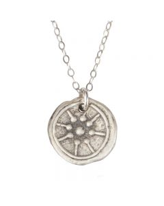 Sterling Silver Christian Necklace - Widow's Mite