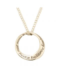 14Kt Gold Necklace - Fruit of The Spirit