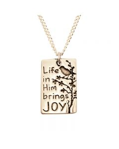 14Kt Gold Necklace - Joy