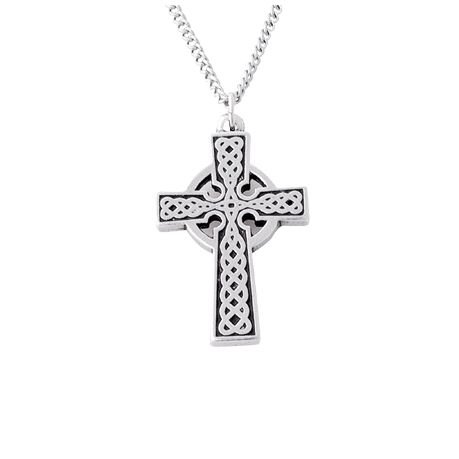 Cross Necklace - Traditional Celtic